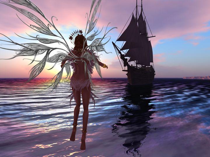 Feathered Siren - Xanet Calbet