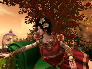 Persephone in Spring - Xanet Calbet