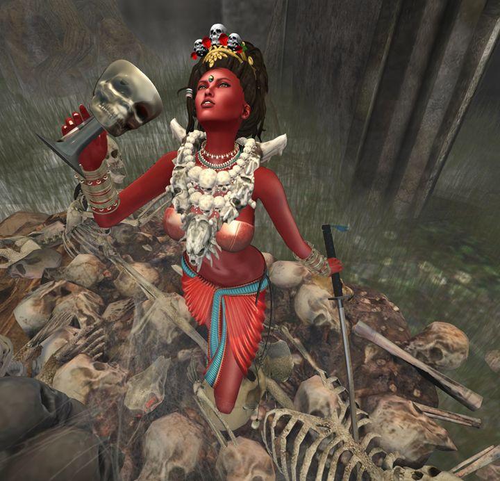 Buddha Vajrayogini - Xanet Calbet