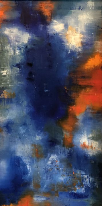 deep blue - Julie Brown Hofmeister