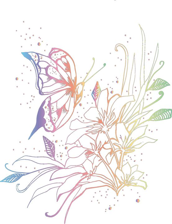 Fly Butterfly - JenzDezignz