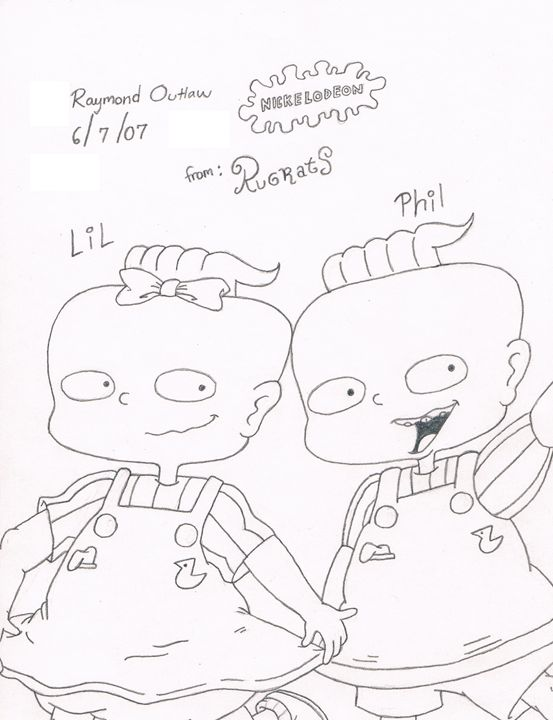 Phil & Lil (Rugrats) - Ray's Art Gallery