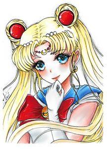 Sailor Moon Drawing / Art - Marish.ru