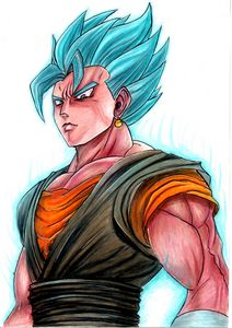 Saiyan Blue from Dragon ball z
