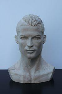 Cristiano Ronaldo sculpt - Van Dogh