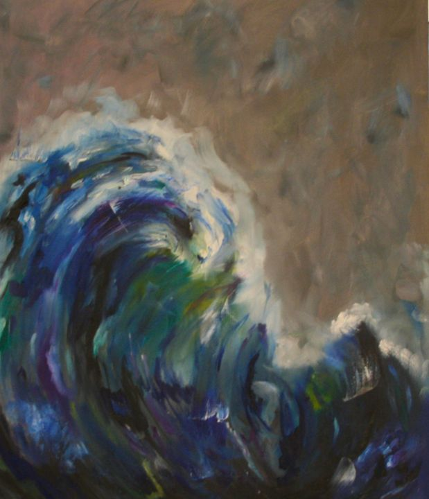 Wave - Melanie Lyons Art