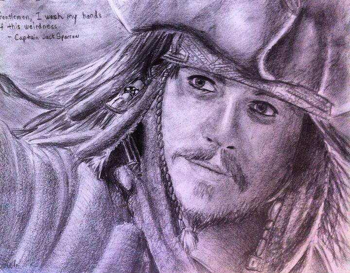 Captain Jack Sparrow - Joseph Iovescu's Gallery