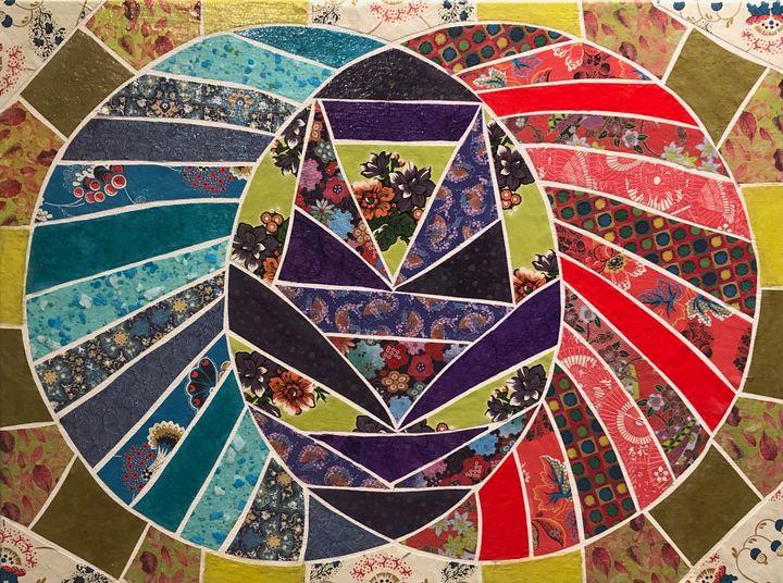 Blue and Red Make Purple - Debbie Gibbs