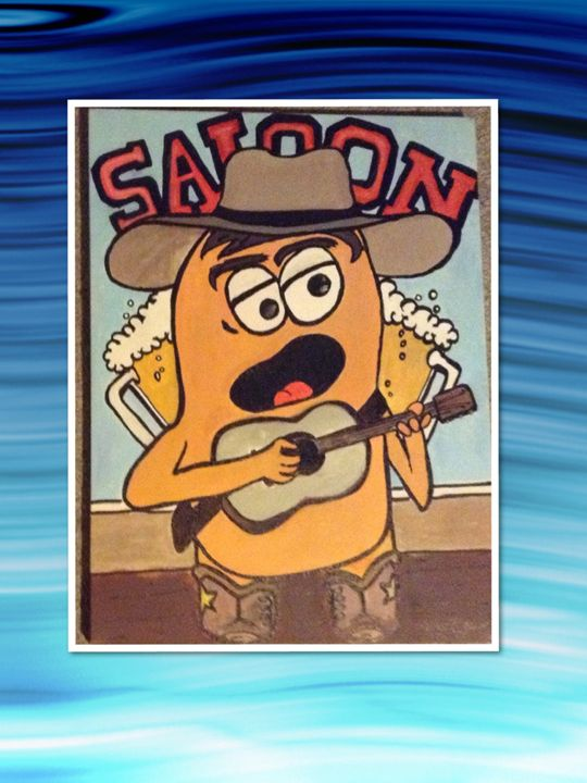 Saloon singing Twinkie - Imaginary Life