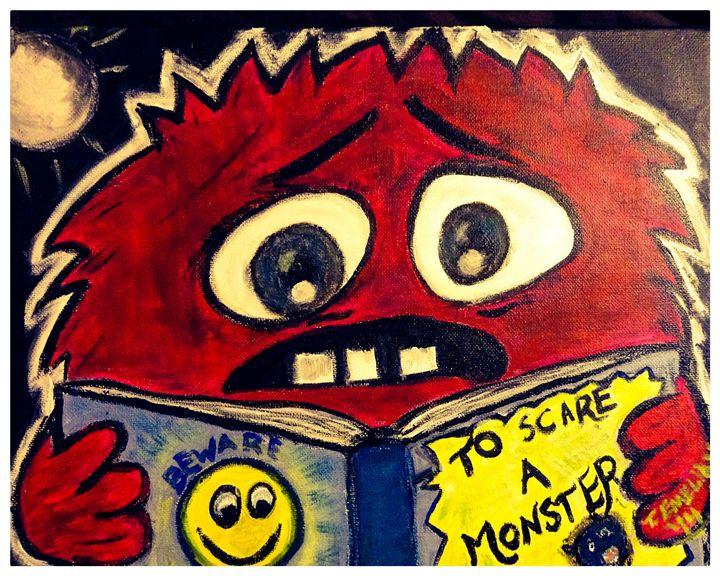 Monster reading - Imaginary Life