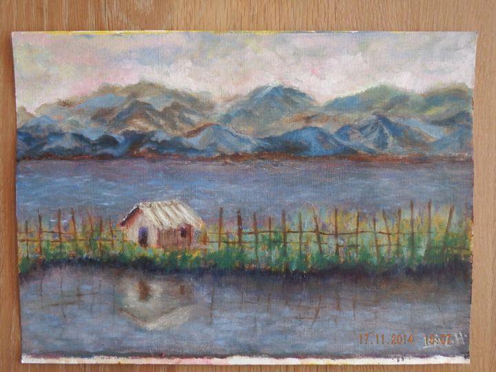 Hut on Floating Farm - ART LAVA STUDiO