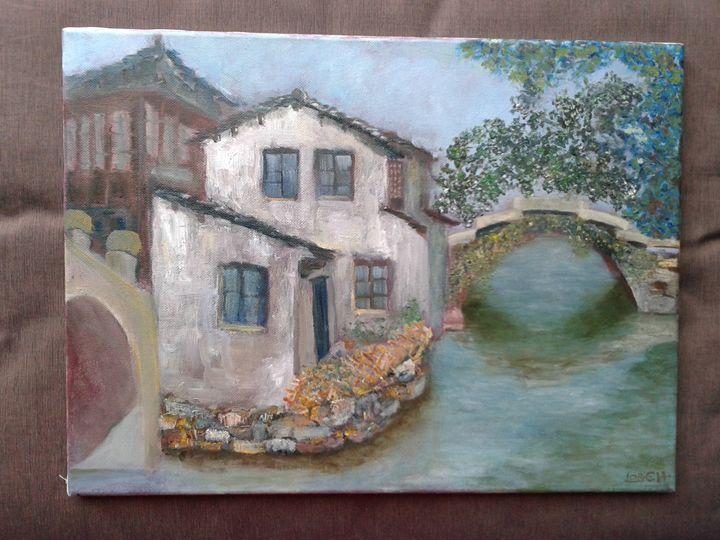House Between Two Bridges - ART LAVA STUDiO