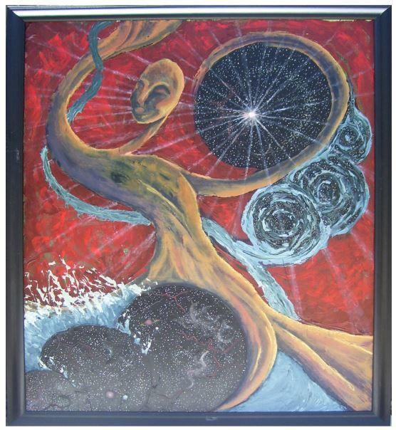 The Birth of Time - Kyra Coates Art