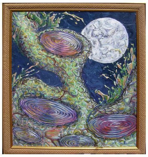 Moonstruck - Kyra Coates Art