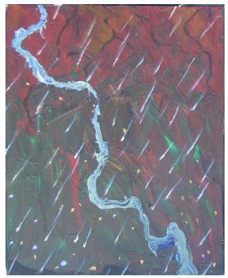 The Birth of the River #1 - Kyra Coates Art