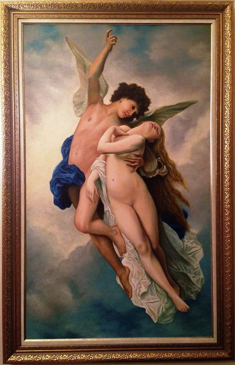 Psyche et L'Amour - Old Masters Art