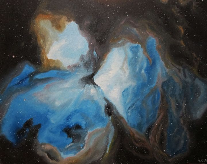 Nebula - Mantel Art