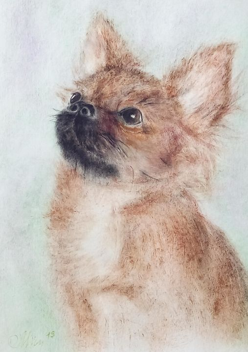 Little Fluffy - Paintings With Love