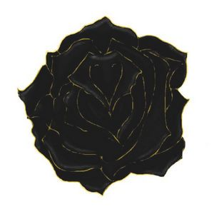 Gold Tipped Rose