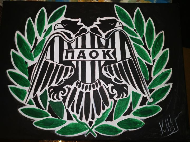 Paok fc team - Byzantine icons