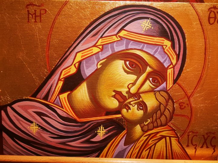 Mary and christ - Byzantine icons