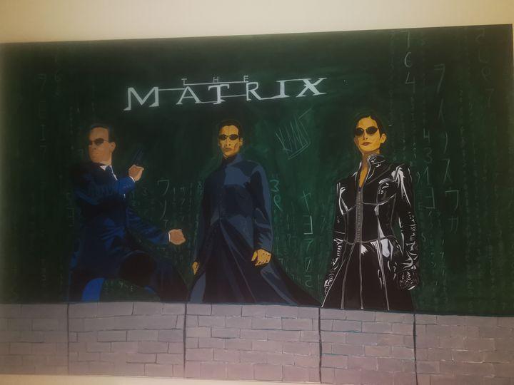 The matrix - Byzantine icons