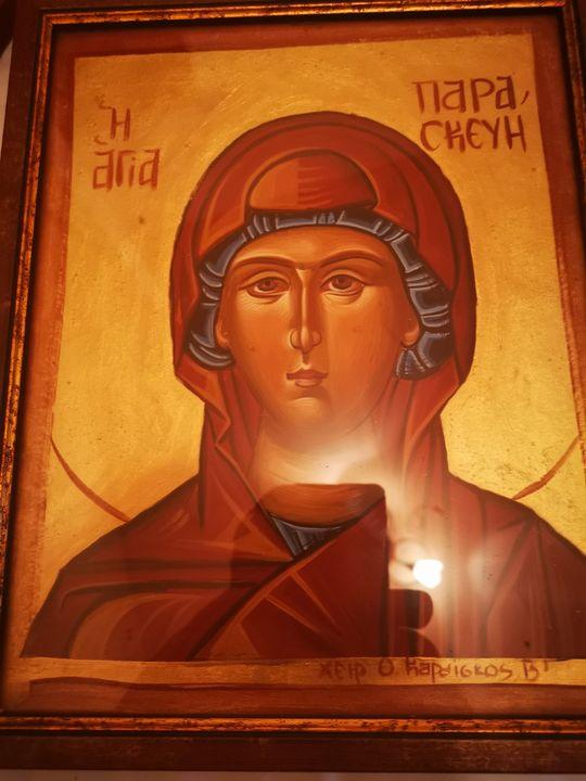 Saint paraskeyi - Byzantine icons