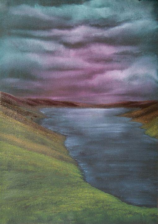 Highland loch - June Rorison