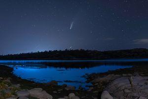 Watson Lake Neowise