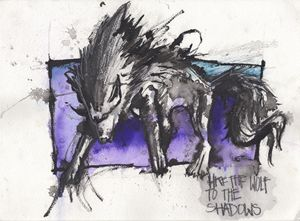 LIke the Wolf (SOLD)