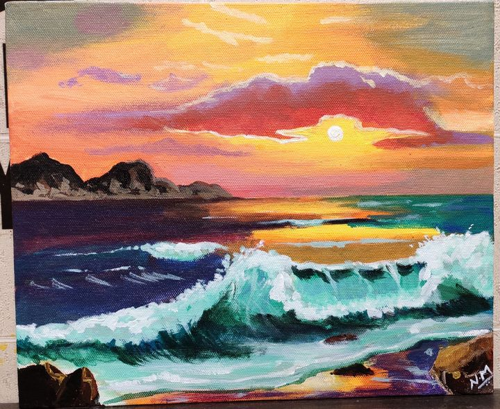 Scenery painting - Niki Arts Studio