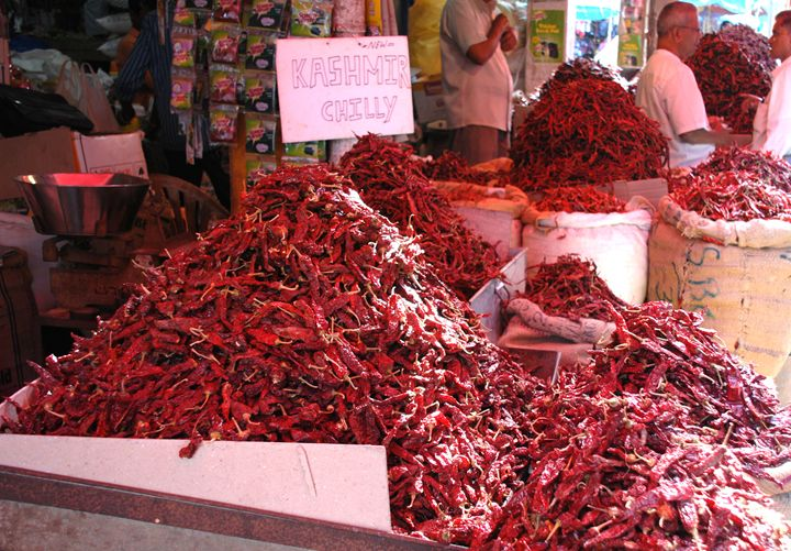 Hot Chillies - james p connor