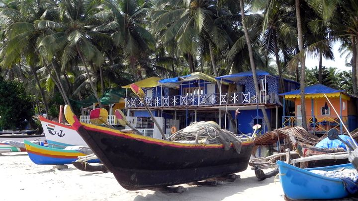 beach life south goa india - james p connor