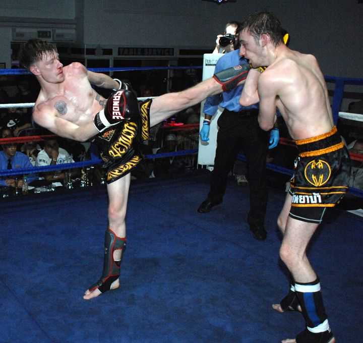 mma midle weight fight - james p connor