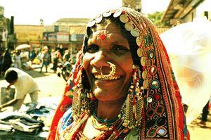 market trader Mapusa Goa - james p connor