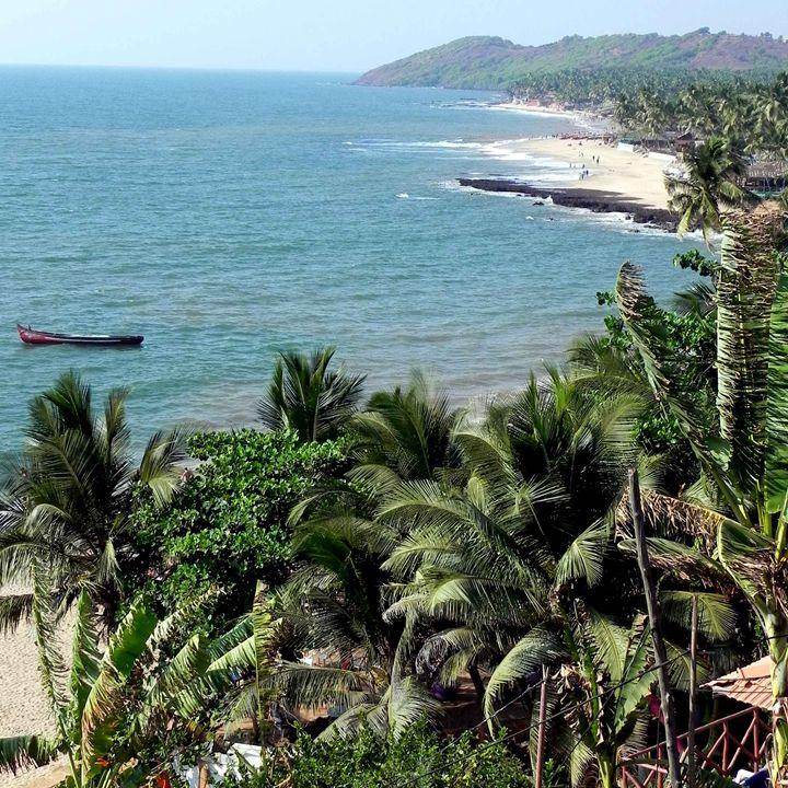 South Anjuna Beach Goa India - james p connor
