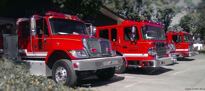 City of Davis Firetrucks - Ciara Smith