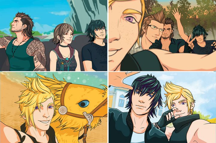 Final Fantasy XV 4 Print Photo Pack - Bexios Boutique