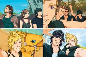Final Fantasy XV 4 Print Photo Pack