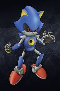 Metal Sonic Render