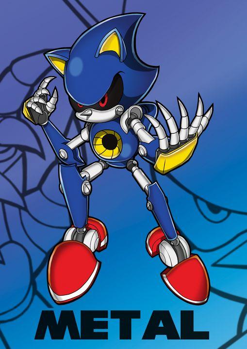 Adventure Metal Sonic - Bexios Boutique