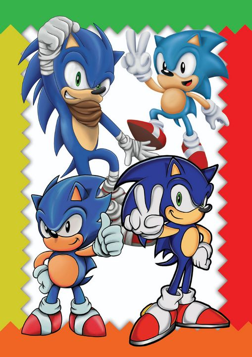 Sonic Styles Poster - Bexios Boutique
