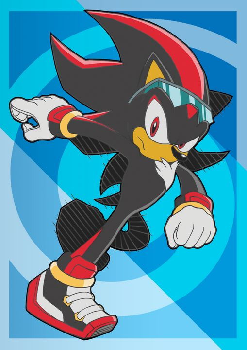 Sonic Riders Shadow - Bexios Boutique