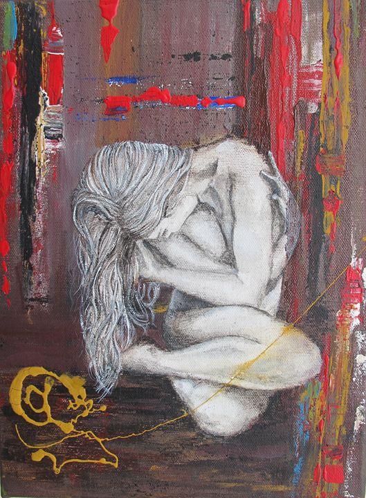 """Emotion"" Original Acrylic Painting - Alice"