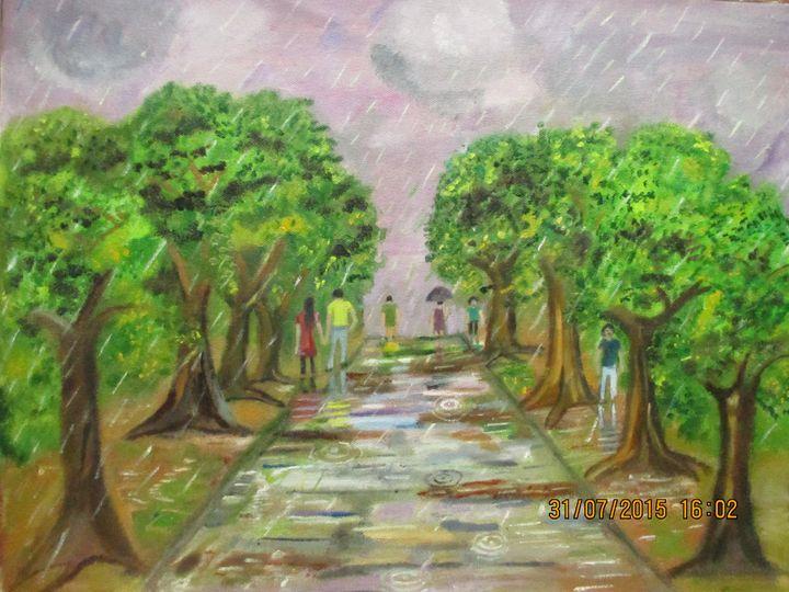 Rainwalk - Art for Peace