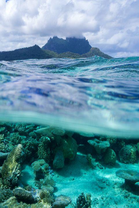Cloudy blue sea - Exil