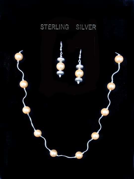 Pearl & Sterling Silver - Jewelry by Joy