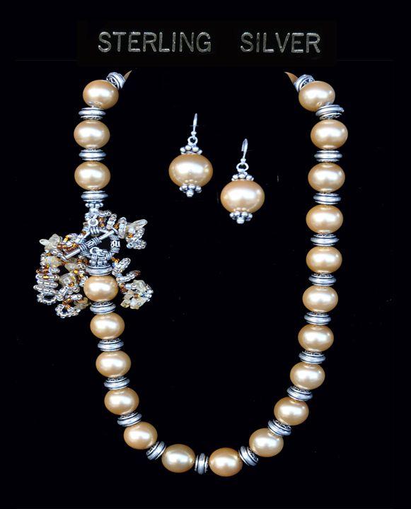 Pearl & Sterling Silver - Jewelry by Joy