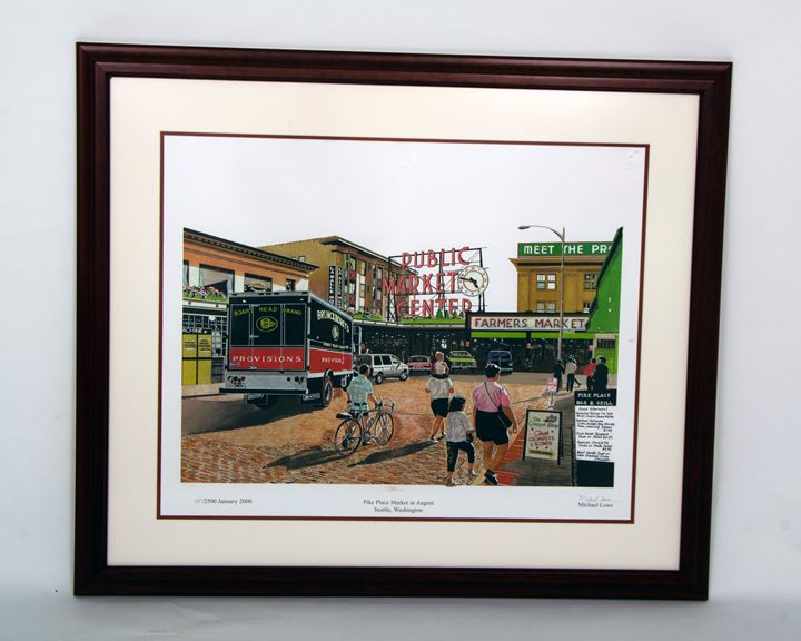 Pike Place Market - Michael Lowe Art