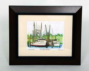 Inlet Waterway Shrimp Boats